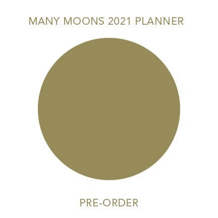 2021 Many Moons Lunar Planner Pre Order Modern Women Sarah Faith Gottesdiener Visual Magic